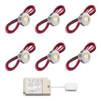 Cree LED Einbaustrahler Veranda Pals rts | Warm Weiß | Set mit 6, 8, 10 oder 12 Stück L2232