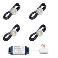 Cree LED Einbaustrahler Sevilla bas | Warm Weiß | Set mit 4, 6, 8, 10 oder 8 Stück L2137