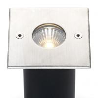 Cree LED Bodeneinbaustrahler Trofa | Warm Weiß | 5 Watt | Eckig L2089